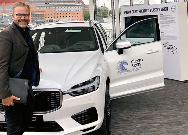 Rondo Plast Fredrik Holst Volvo Demo Car