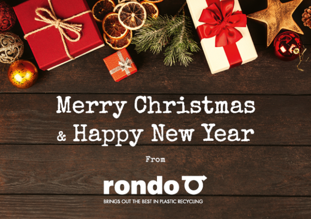 Merry Christmas and Happy New Year fron Rondo Plast